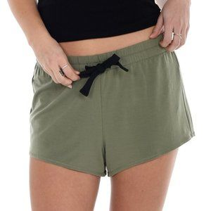Paper Label Lucia Sleep or Lounge Shorts Green